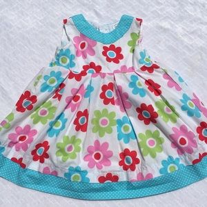 Carters Colorful Flower Power Dress